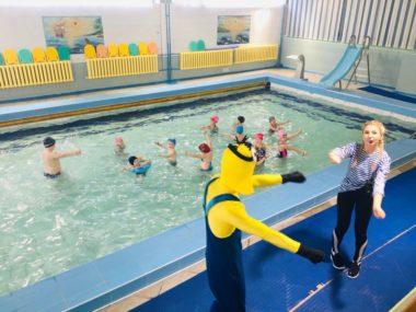 СК ОлимпГруппы здоровья в детском бассейне СК Олимп, Коряжма