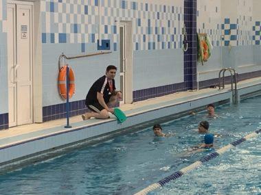СК Олимп Коряжма, Обучение плаванию