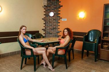 СК Олимп, Коряжма, Фитнес-центр с турецкой баней