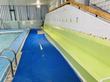 Свободное плавание в детском бассейне CK Олимп, Коряжма