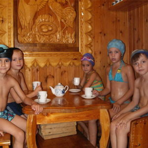Семейная сауна