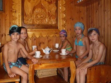 Семейная сауна в детском бассейне СК Олимп, Коряжма