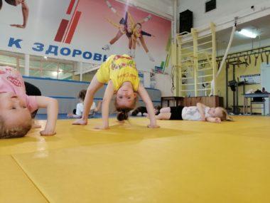 Спортивная акробатика в СК Олимп, Коряжма