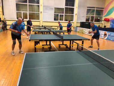 Зал настольного тенниса в CK Олимп Коряжма