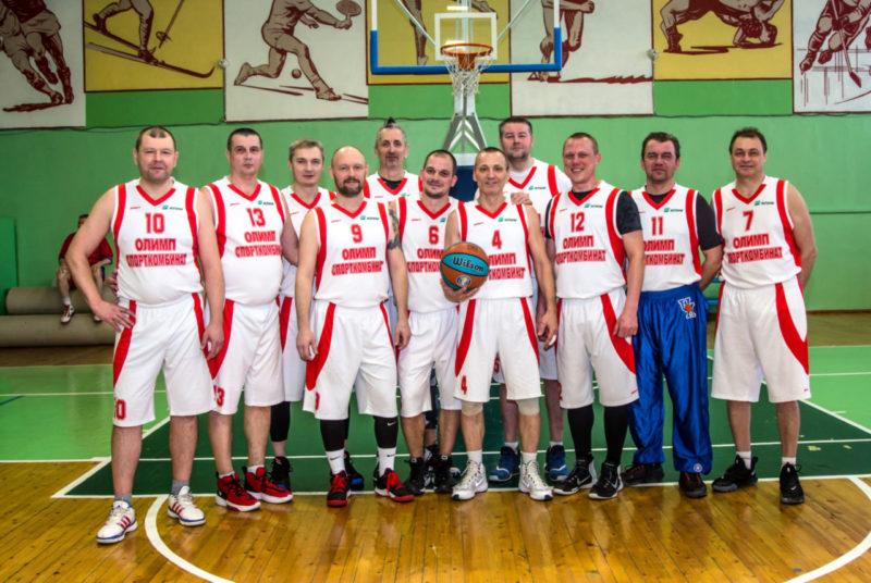 Мужская сборная команда по баскетболу СК Олимп г. Коряжма