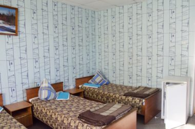 Гостиница Спорт на стадионе Труд, Коряжма