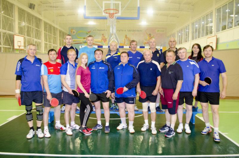 Сборная команда по настольному теннису СК Олимп г. Коряжма