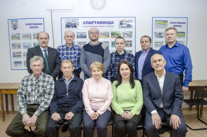 Шахматный клуб СК Олимп г. Коряжма