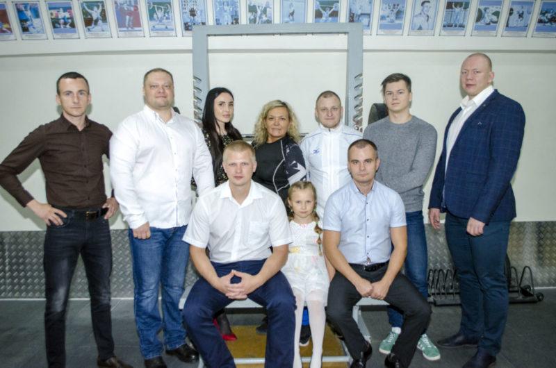 Сборная команда по тяжелой атлетике СК Олимп г. Коряжма