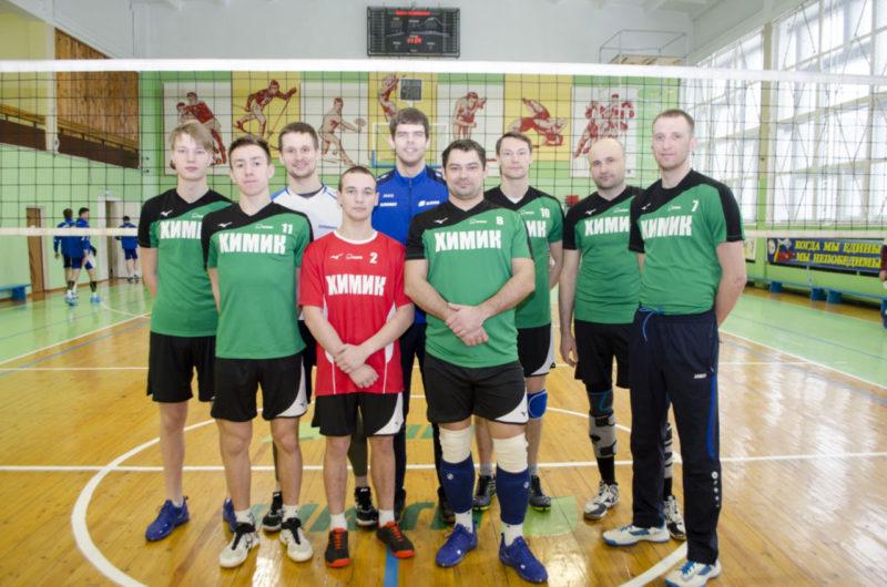 Мужская сборная команда «Химик» по волейболу СК Олимп г. Коряжма
