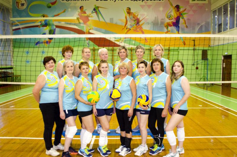 Женская сборная команда по волейболу СК Олимп г. Коряжма